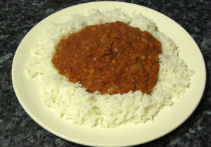 Corned beef curry - simple curry recipe using a tin of corned beef