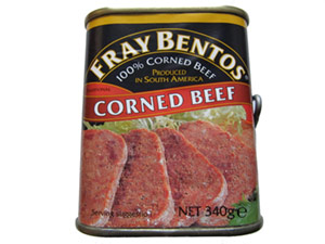 tin of corned beef